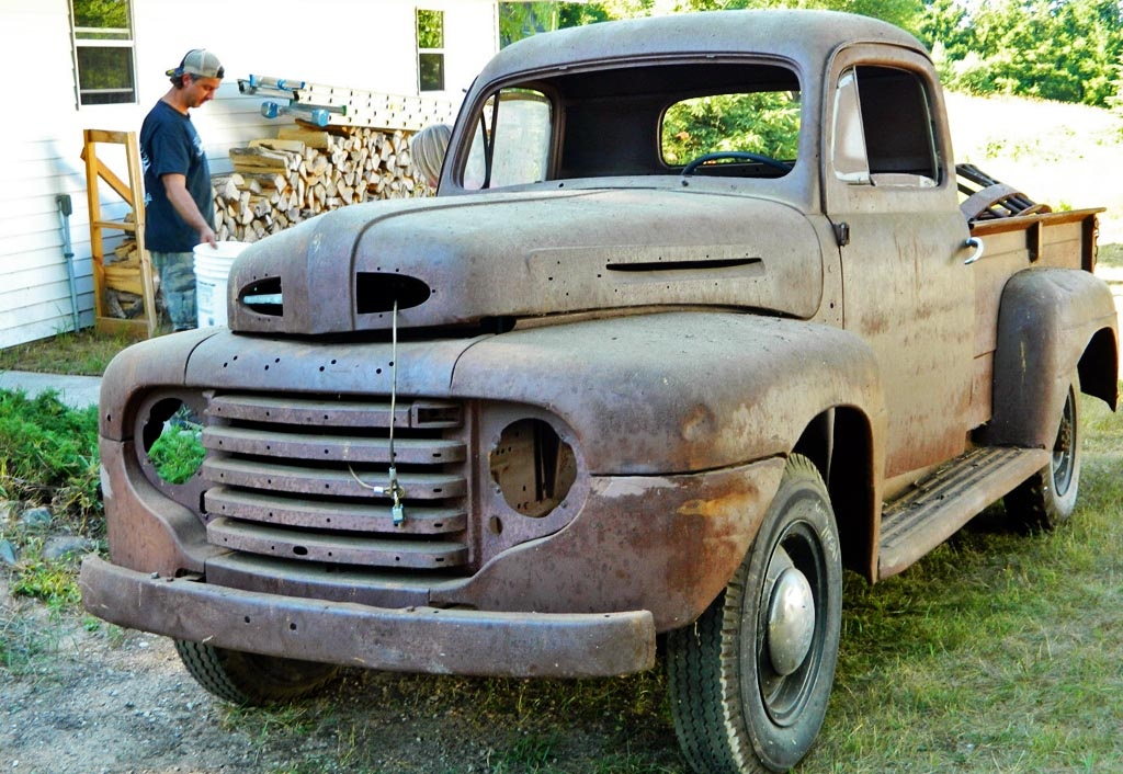37 Years In A Barn 1948 Ford F3 Pickup