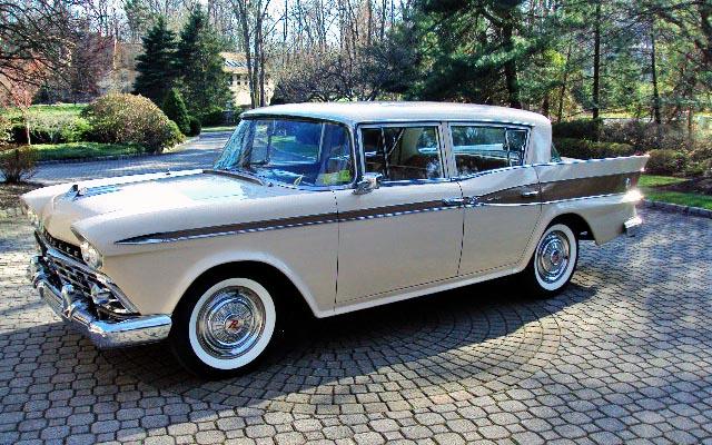 Parked Since '87: 1959 Rambler Custom Six