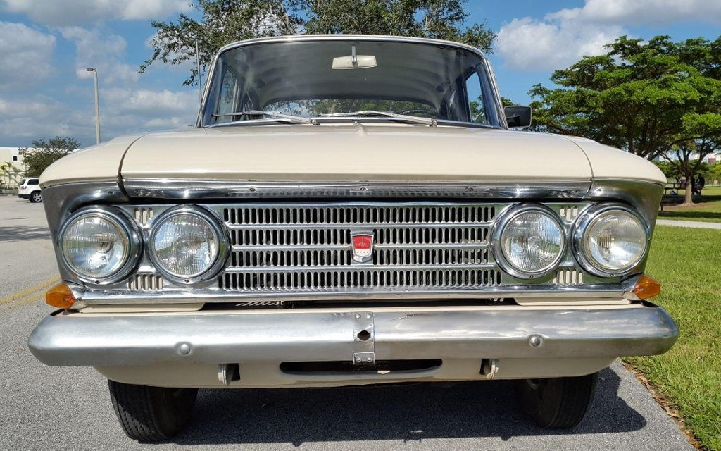 1968 Moskvitch 408 Grille