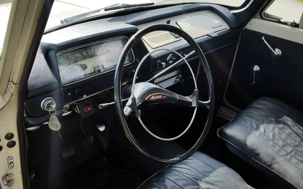 Imported Oddball 1968 Moskvitch 408
