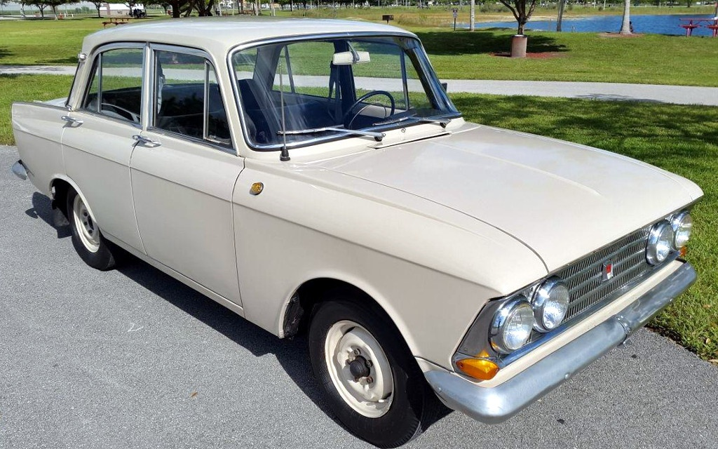 Imported Oddball Moskvitch
