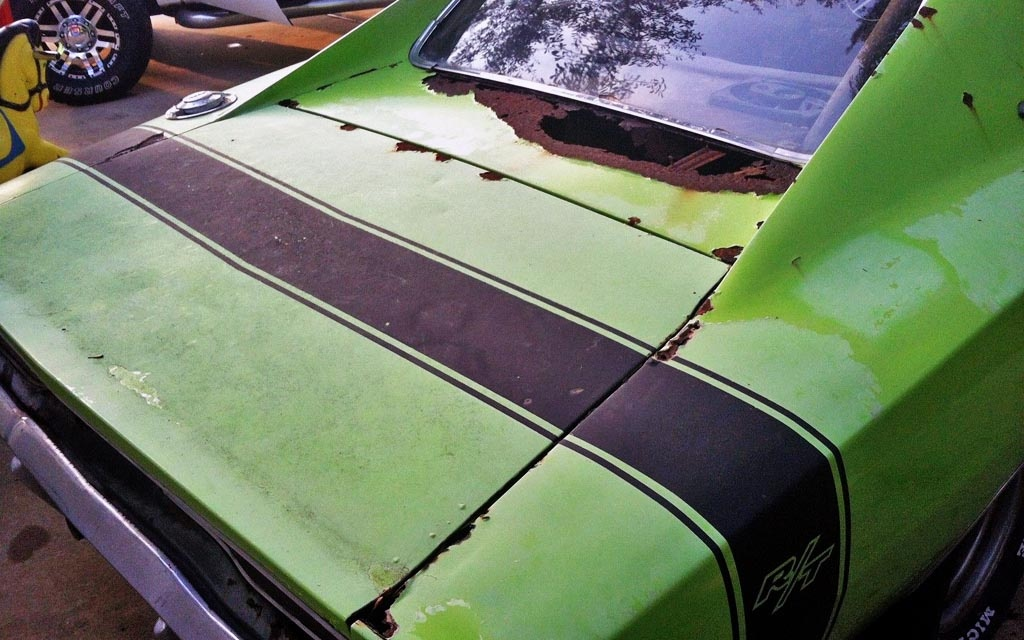 Dodge Charger Rt Stripe