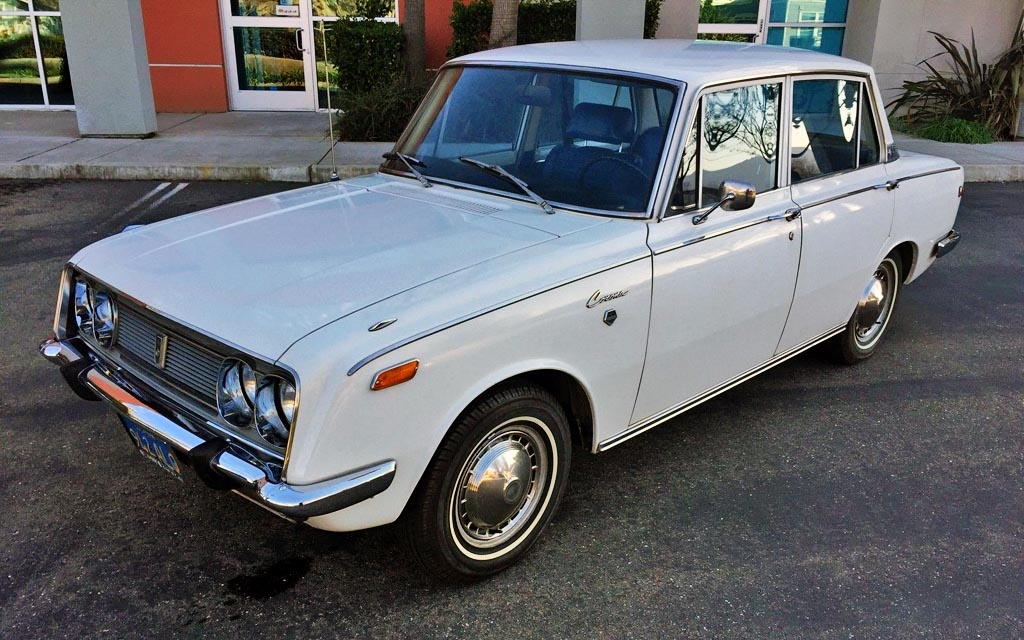 all original 1970 toyota corona deluxe