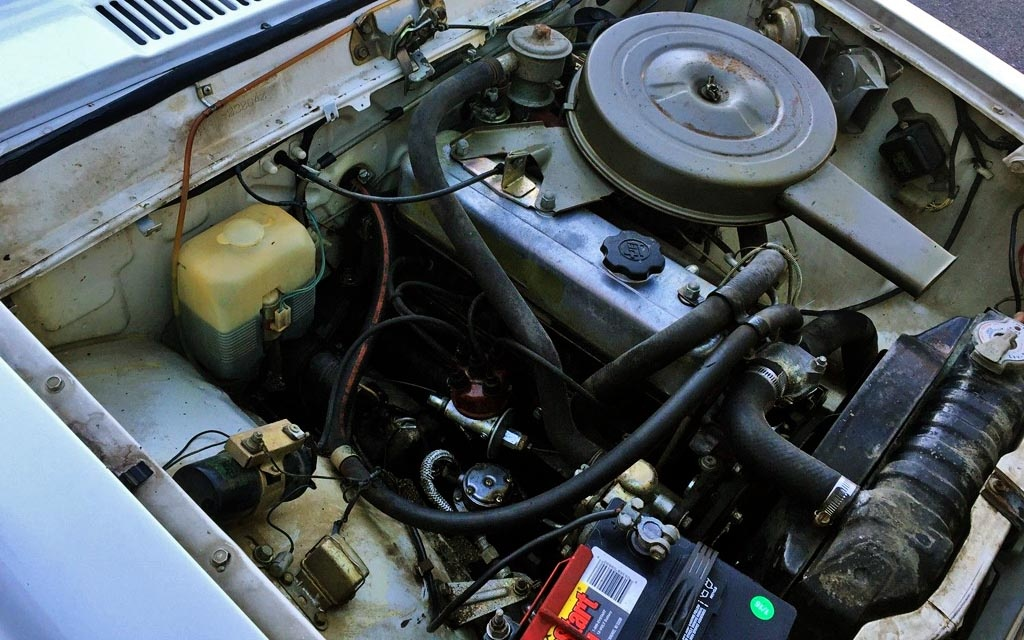 1970 Toyota Corona Engine