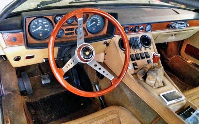 1971 Lamborghini Espada Interior