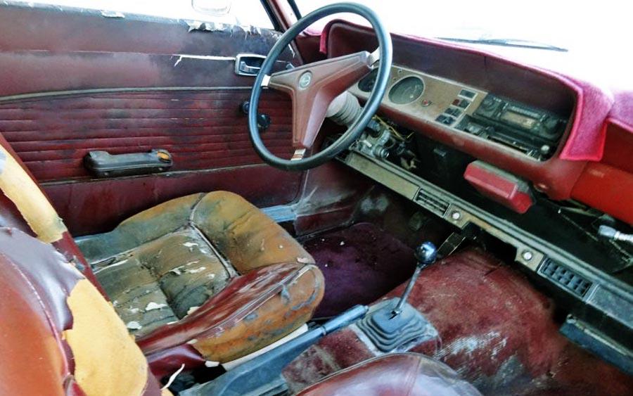 Sunburned 1971 Mercury Capri Gt
