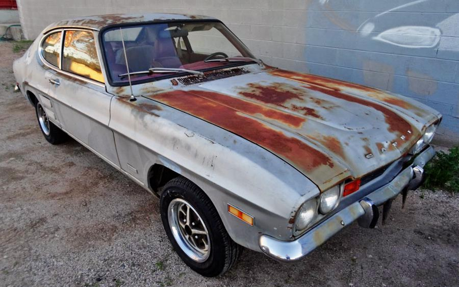 Car For Sale Near Me >> Sunburned: 1971 Mercury Capri GT