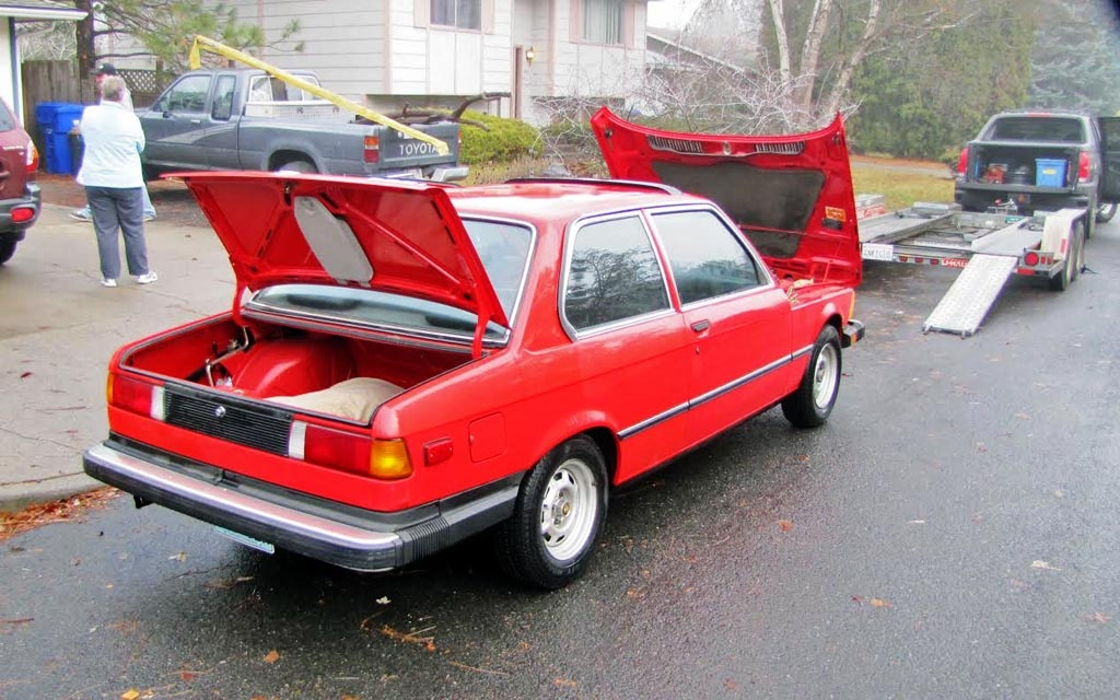 1979 BMW 320i Finally Home