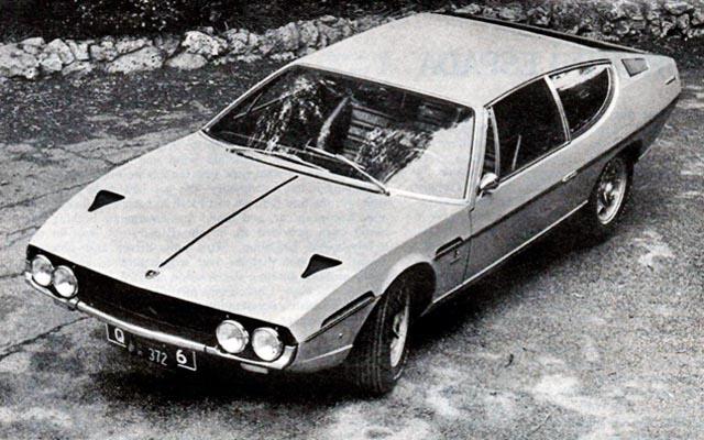 Lamborghini Espada Ad