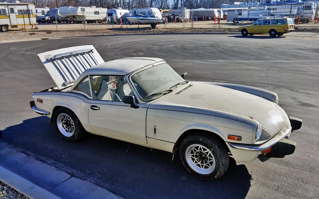 Triumph Spitfire and 145