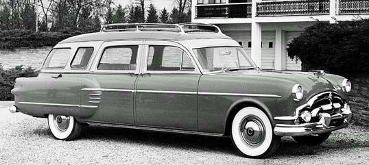 Car Auction Near Me >> 1954 Packard: Big Block Hearse