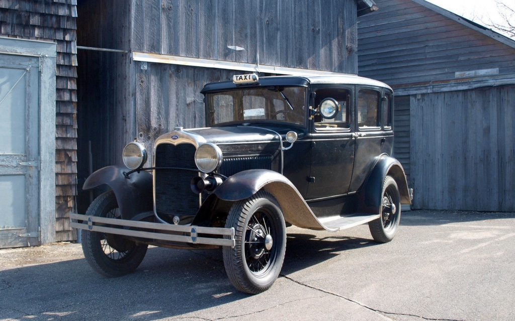 1930 Ford Model A Taxi