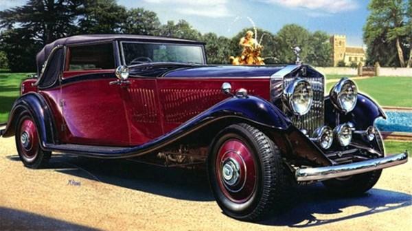 1934 Rolls-Royce Ad