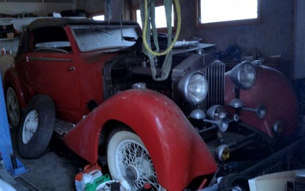 1934 Rolls-Royce Sedanca