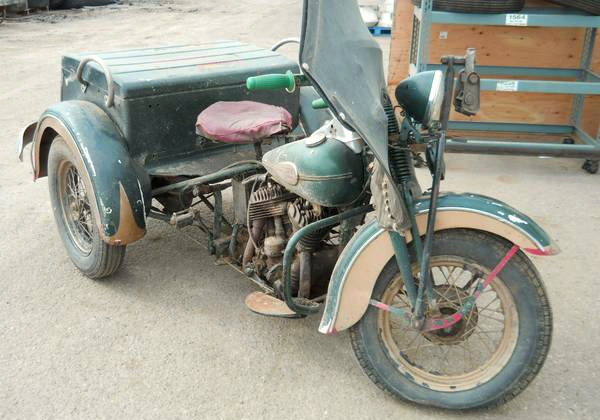 Are You Being Served? 1942 Harley Servi-Car