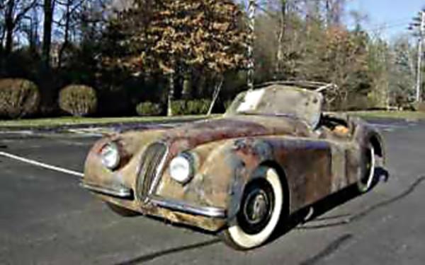 Low Mileage Kitty: 1950 Jaguar XK120