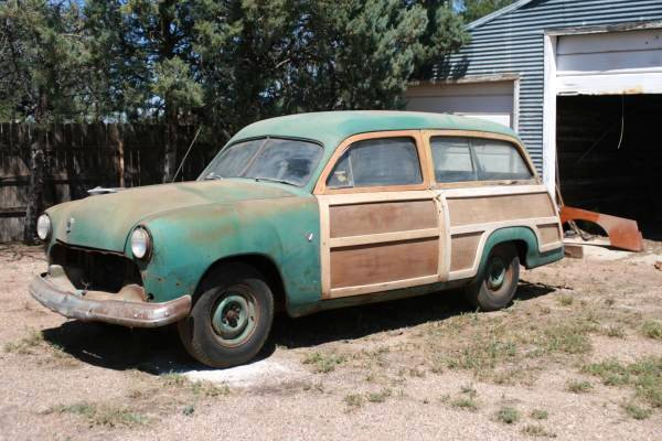 1951 Ford Country Squire Real Woody Wagon