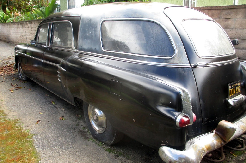 Hearse For Sale >> 1954 Packard: Big Block Hearse