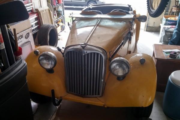 1954 Singer garage find