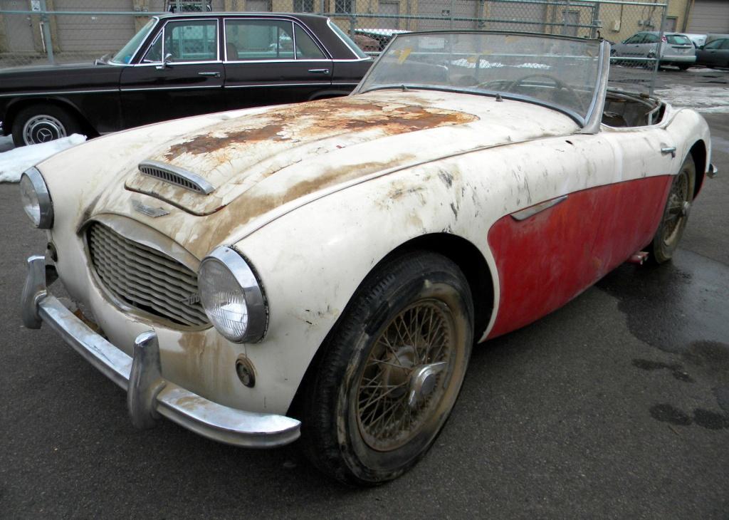 Desert Fresh 1957 Austin Healey 100 6