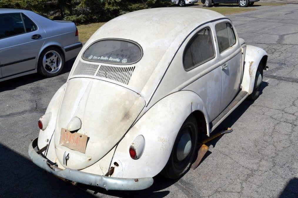 Solid As Sears: 1957 Volkswagen Beetle