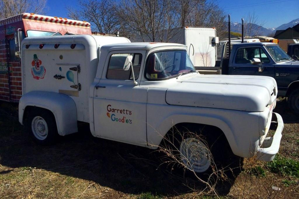 Ice Cream Truck For Sale >> Do You Scream For Ice Cream? 1960 F250