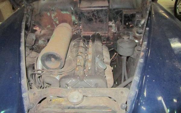 1961 Jaguar MK IX Engine