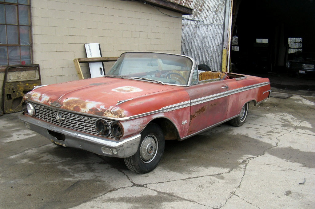 galaxie drop top 1962 ford convertible. Black Bedroom Furniture Sets. Home Design Ideas