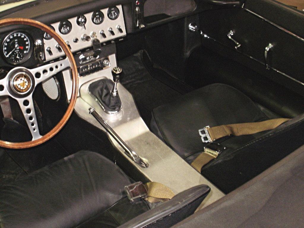 1963 Jaguar XKE Interior