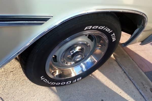 1965 Chevelle Wheel
