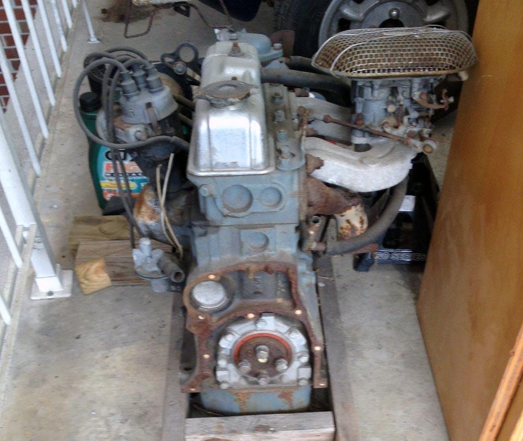 Spitfire Engine Rebuild 1965 Triumph Spitfire Engine