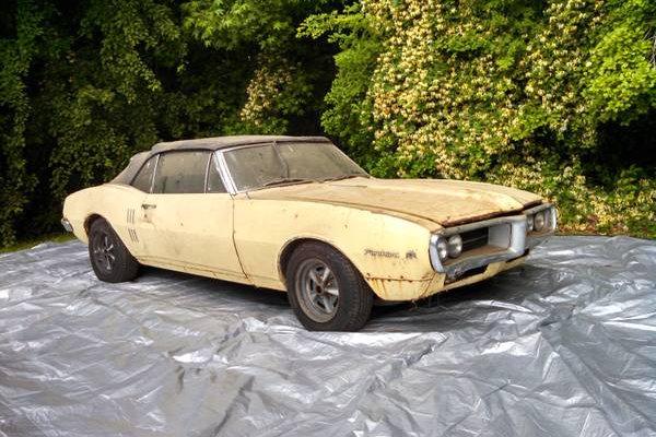 1967 Pontiac Firebird Convertible: Year One