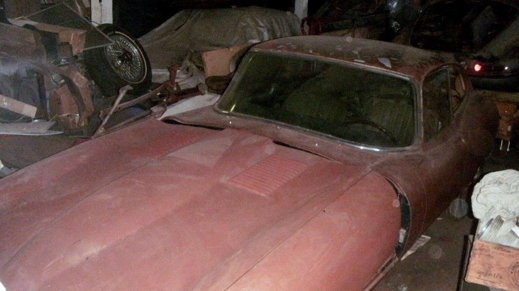 1967 Jaguar E-Type: Stalled Project