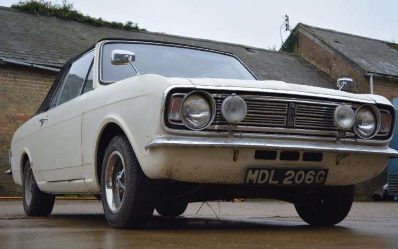 1968 Ford Cortina 1600 GT