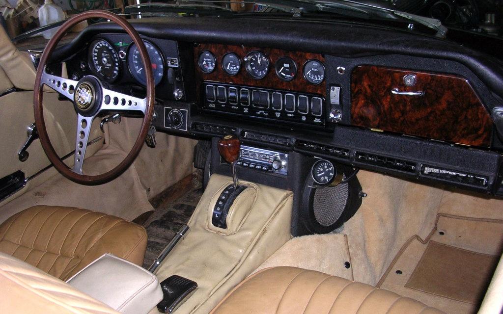 1968 Jaguar XKE Interior
