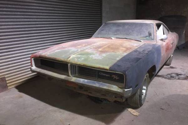 1969 Dodge Charger R T Gambling Man