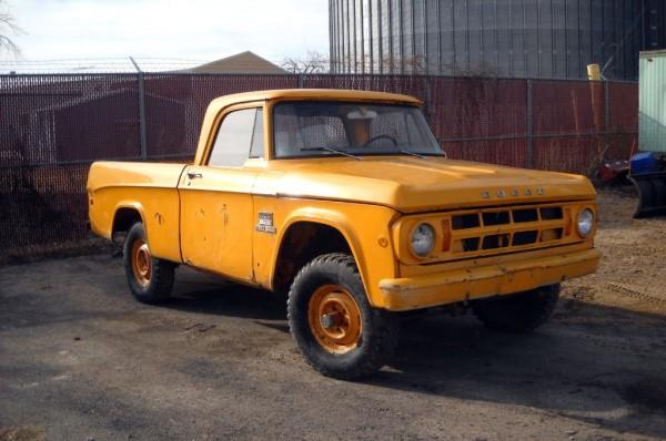 1969 Dodge W100