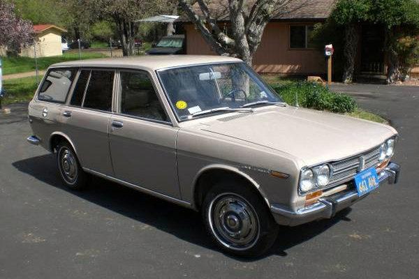 1970 Datsun 510 Wagon: California Clean