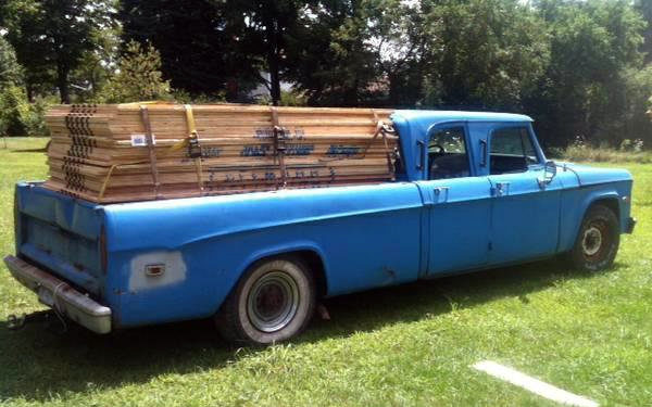 1970 Dodge D200: Early Crew Cab
