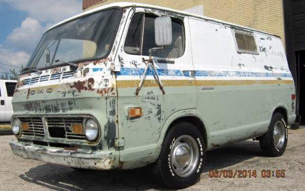 1977 Dodge Ram Van Vs 1970 GMC Short Van