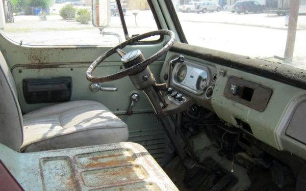 1970 GMC Van Interior
