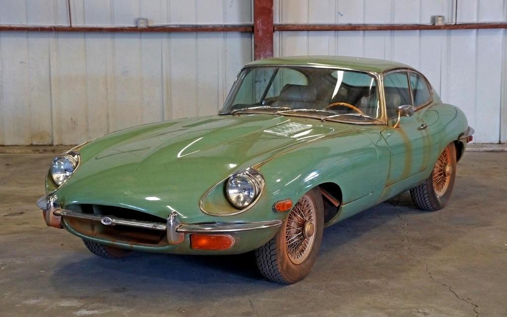 Jaguar E Type For Sale >> Clay Stained: 1970 Jaguar E-Type FHC