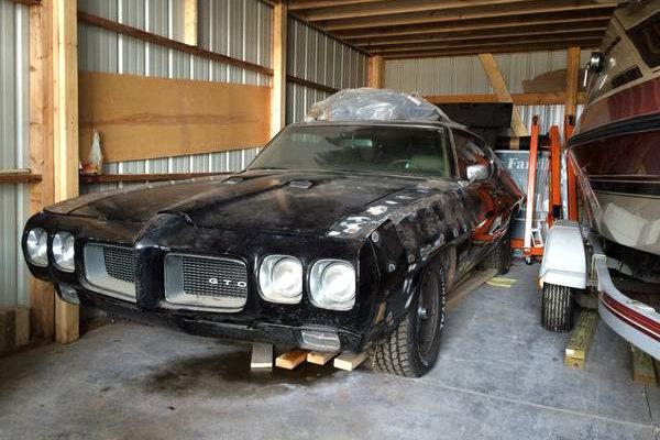1970 Pontiac Gto Project 455 H O