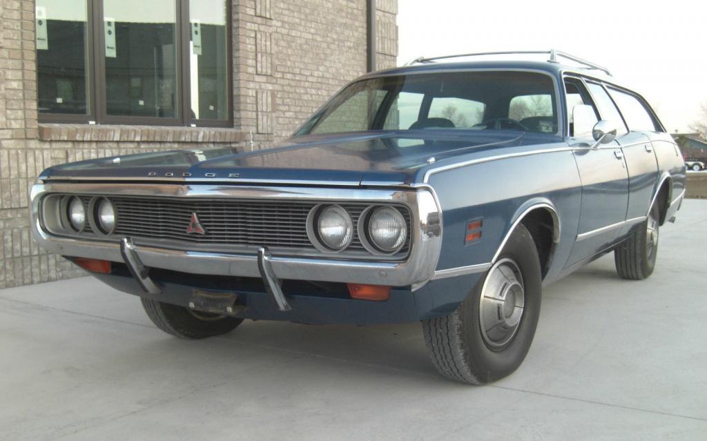 N Code Wagon 1971 Dodge Coronet Crestwood
