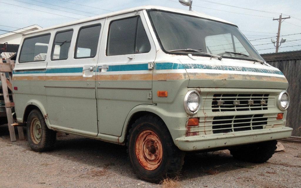 Ford Econoline Van For Sale >> 1972 Ford E100: Southwestern Bell