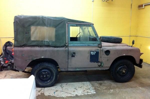 1975 Land Rover Defender