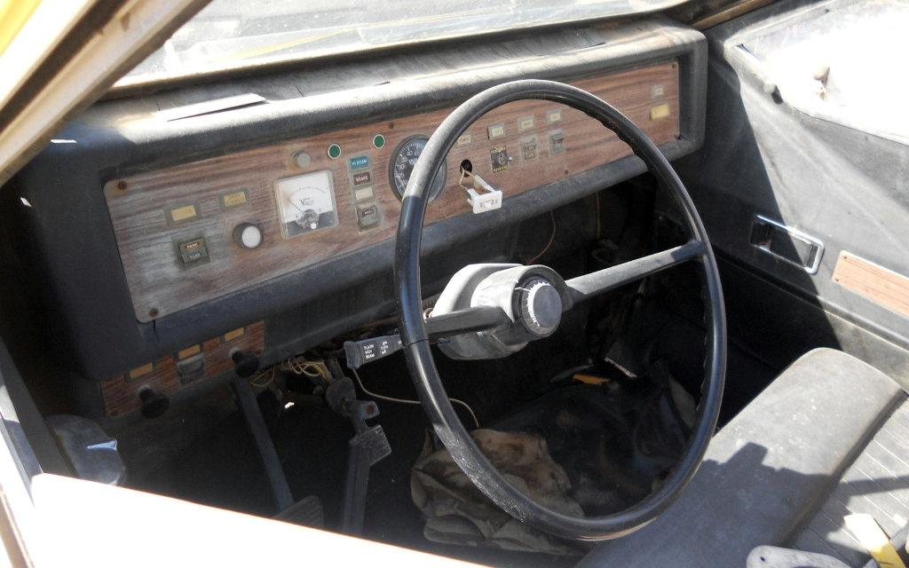 1976 CitiCar Interior