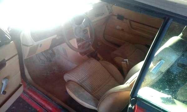 1986 Renault GTA Interior