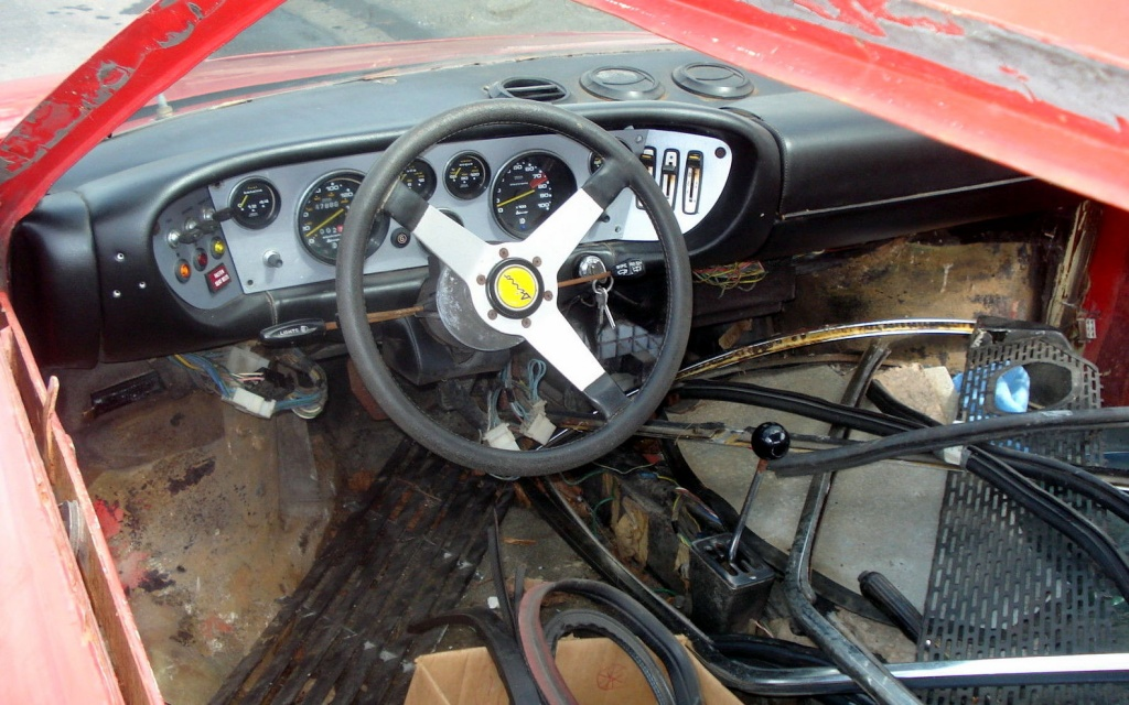 17k Hack Job 1975 Ferrari Dino Gt4