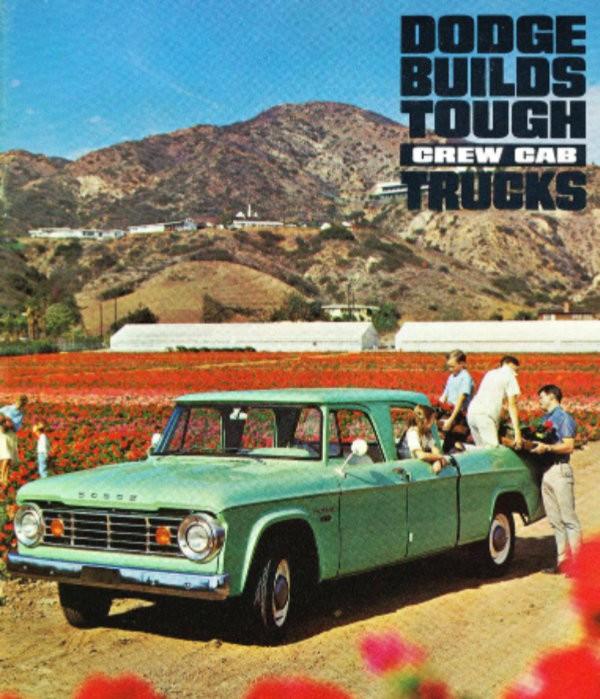 Dodge Ram 1500 Craigslist: 1970 Dodge D200: Early Crew Cab